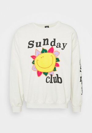 SUNDAY CLUB UNISEX - Sweater - stone
