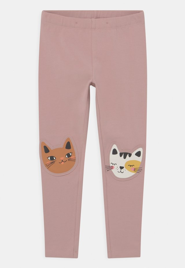 KNEEPATCH CATS - Leggings - Trousers - dusty pink