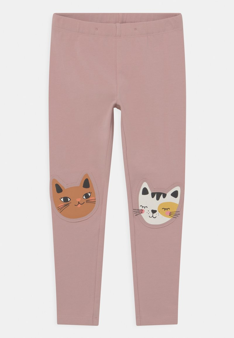 Lindex - KNEEPATCH CATS - Leggings - dusty pink