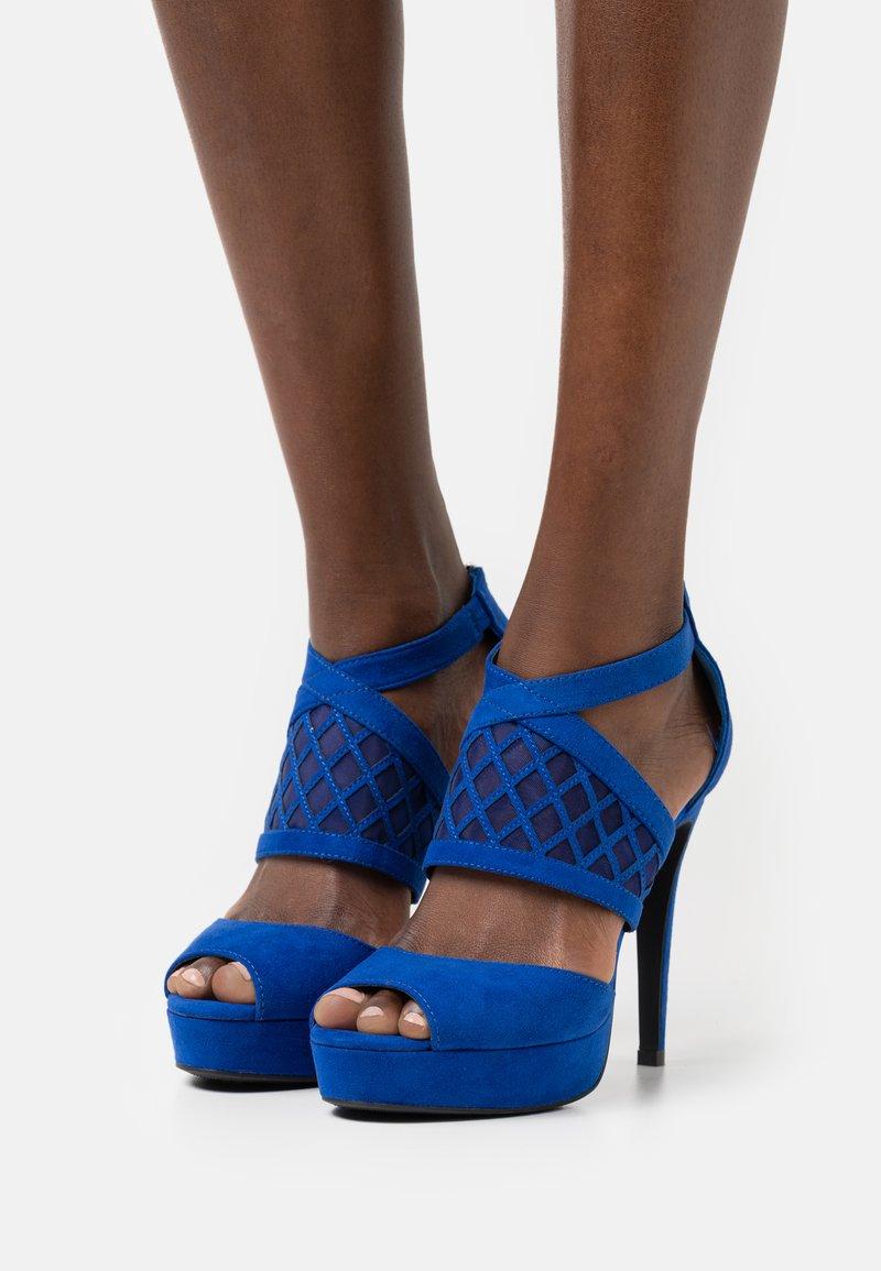 Anna Field - COMFORT - Sandaler med høye hæler - blue