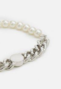 Urban Classics - FLAT CHAIN BRACELET UNISEX - Bracelet - silver-coloured - 2