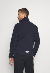 CMP - MAN JACKET ZIP HOOD - Soft shell jacket - blue/verde - 3