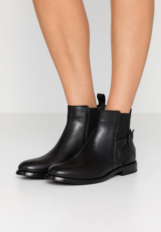 NEWINGTON CLEAN - Boots à talons - black