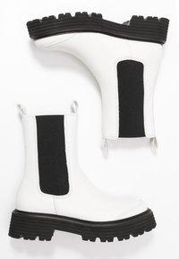 Kennel + Schmenger - POWER - Platform ankle boots - white - 3