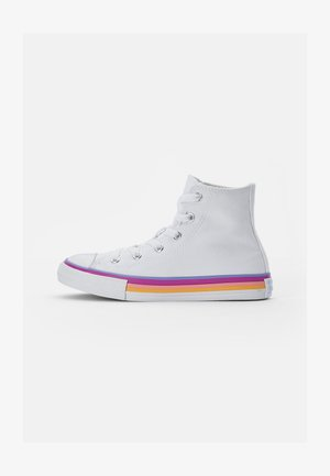 CHUCK TAYLOR ALL STAR MIDSOLE - Korkeavartiset tennarit - white/twilight pulse/white