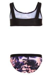 Sunseeker - MIAMI EXCLUSIVE SET - Bikini - black/lobste - 1