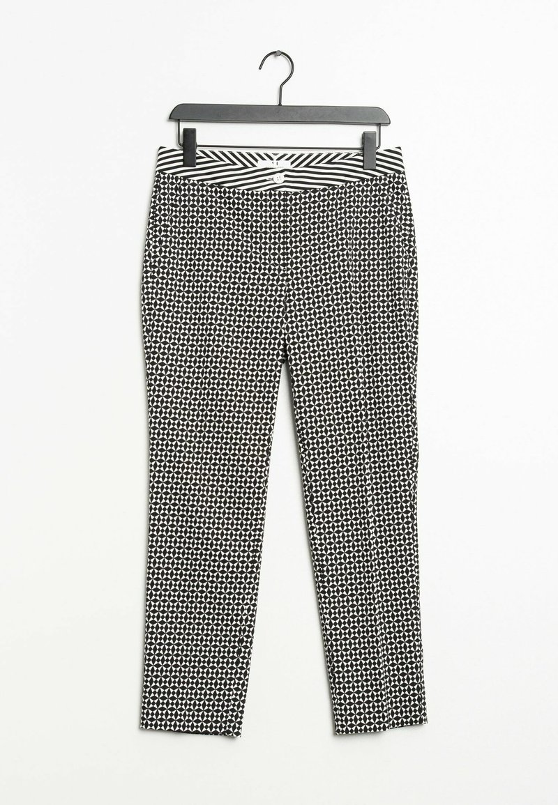 PETER HAHN - Trousers - black