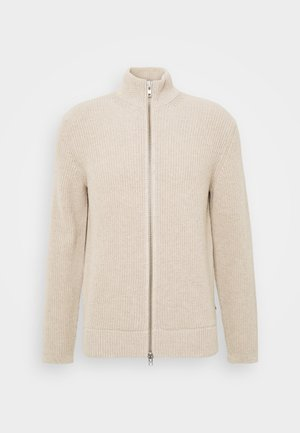 PIET ZIP - Cardigan - bone
