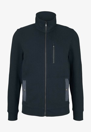 Zip-up sweatshirt - dark blue
