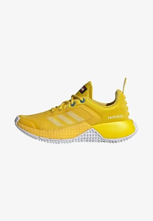 X LEGO SPORT RUNNING ACTIVE PRIMEBLUE - Neutral running shoes - yellow/white/blue