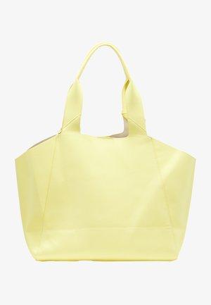 Tote bag - hellgelb