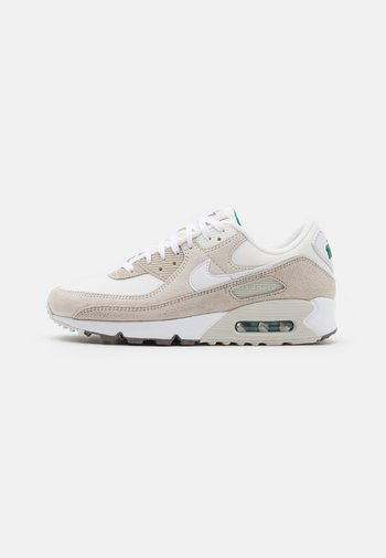 AIR MAX 90 SE - Sneakers laag - sail/white/cream/light bone/summit white/green noise