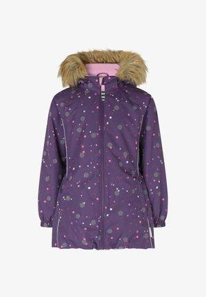 Winter jacket - reflex dot