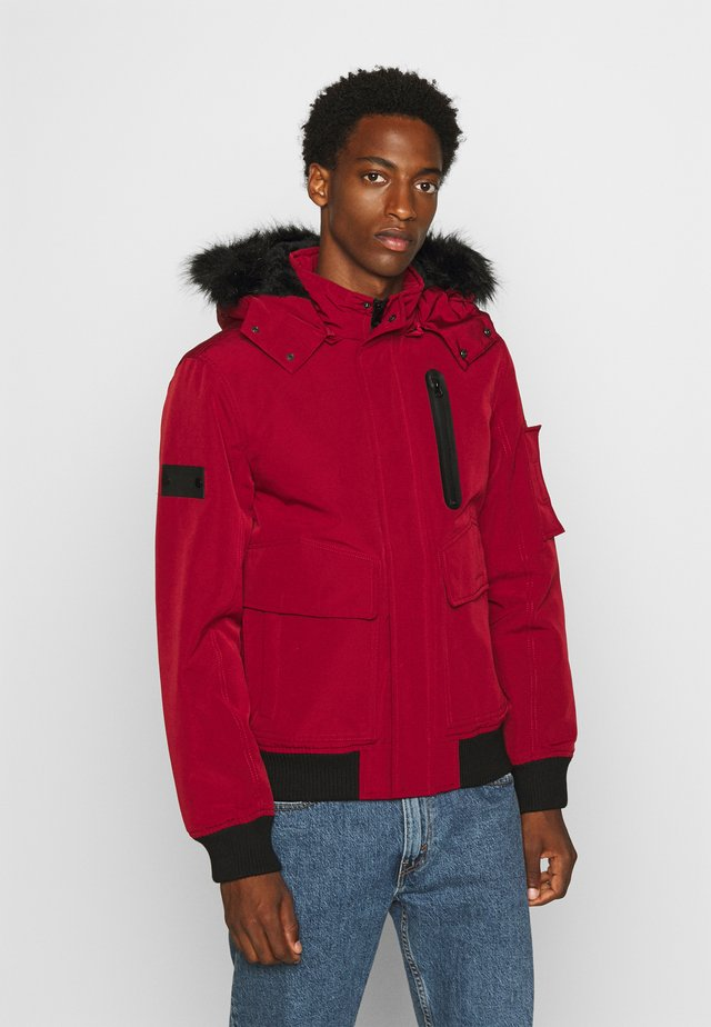SMU FRANK - Zimní bunda - red