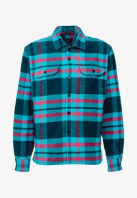 Obey Clothing - FITZGERALD  - Shirt - deep teal - 3
