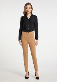 DreiMaster - Leggings - Trousers - beige - 1