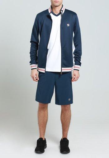 OLE FUNCTIONAL - Sportovní bunda - peacot blue