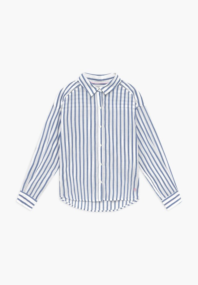 FRANCIS - Button-down blouse - light blue
