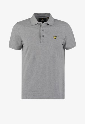 Polo shirt - mid grey marl