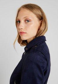 KIOMI - Faux leather jacket - dark blue - 3