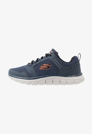 TRACK - Sneaker low - navy/orange