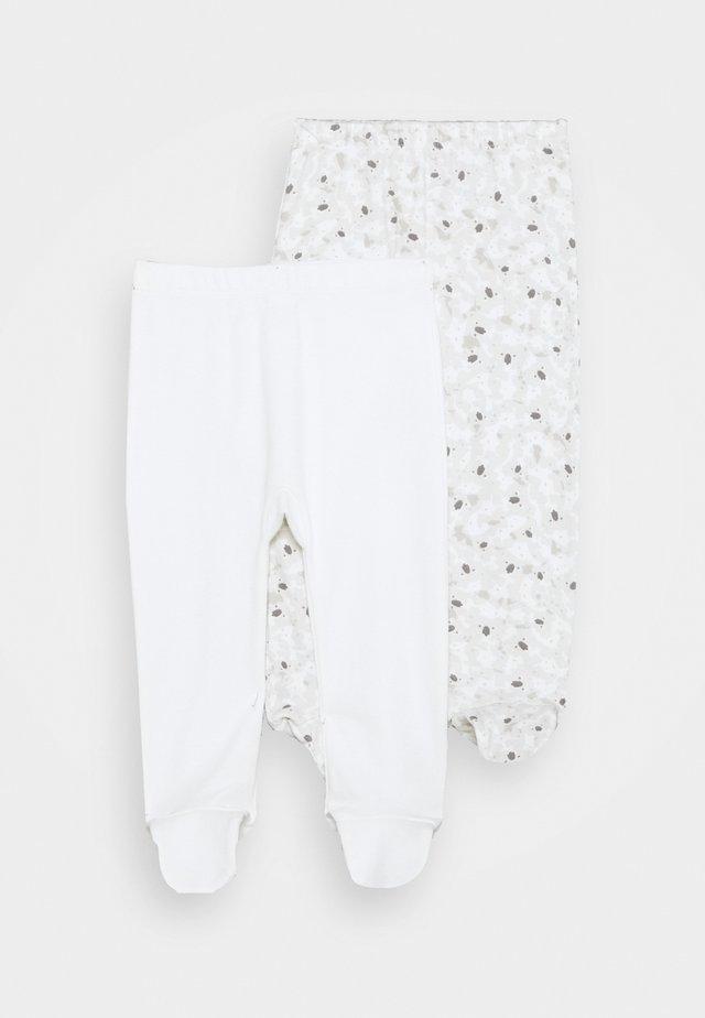 2 PACK - Legging - white