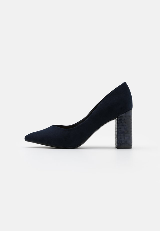 WIDE FIT WILDROSE - Escarpins à talons hauts - night blue