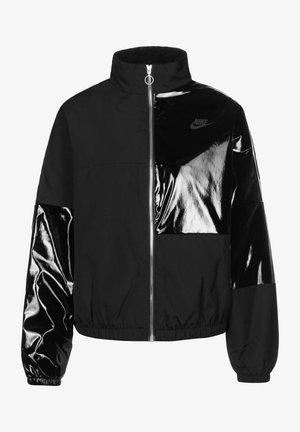 Winter jacket - black/dk smoke grey