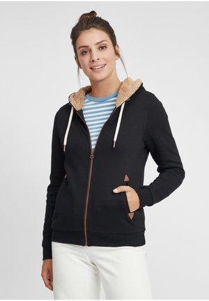 VICKY PILE - Zip-up sweatshirt - black