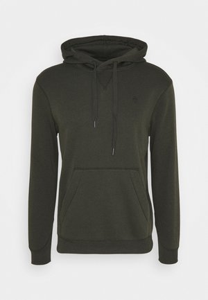 PREMIUM CORE hooded long sleeve - Luvtröja - asfalt