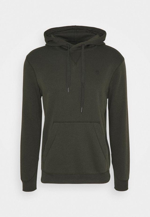 PREMIUM CORE hooded long sleeve - Hoodie - asfalt