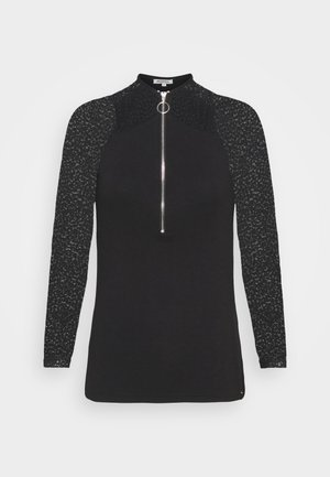 TAMILA - Long sleeved top - noir