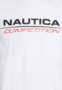 NAUTICA COMPETITION - VANG - Print T-shirt - white - 2