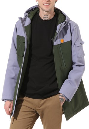 MN ELEVATED MTE PARKA - Parka - kombu green/blue granite