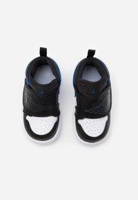 Jordan - SKY 1 UNISEX - Basketball shoes - white/sport blue/black - 3