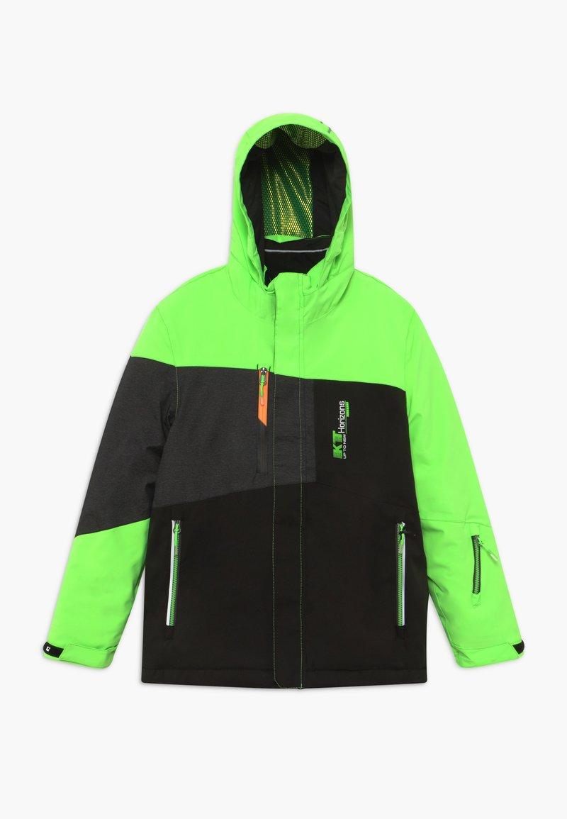Killtec - GLENSHEE BYS - Snowboard jacket - neon-grün
