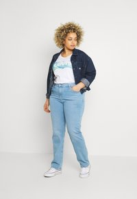 Levi's® Plus - 724 STRAIGHT - Straight leg jeans - rio aura - 1