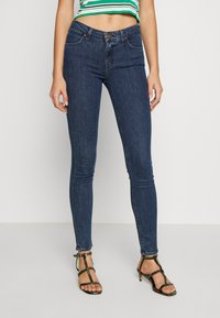 Lee - SCARLETT - Jeansy Skinny Fit - dark blue denim - 0