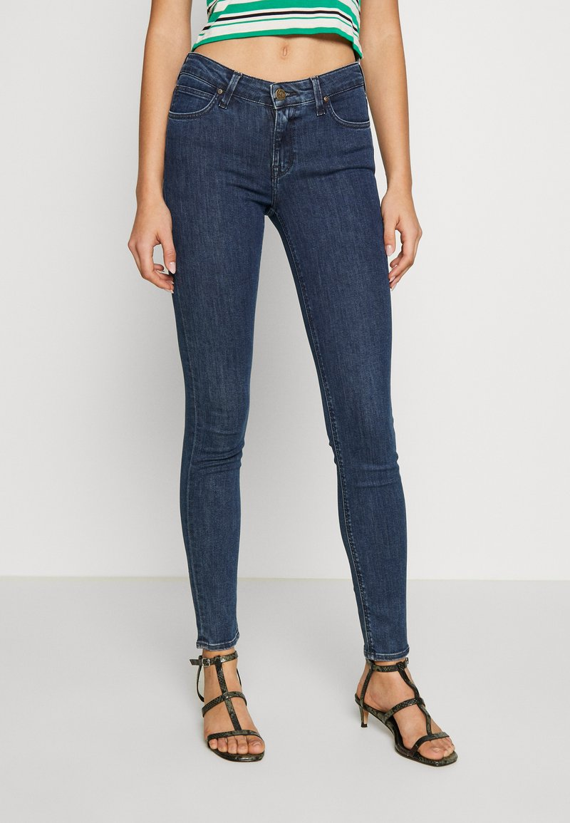 Lee - SCARLETT - Jeansy Skinny Fit - dark blue denim