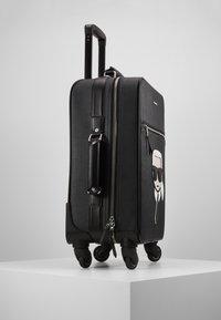 KARL LAGERFELD - IKONIK TROLLEY - Valise à roulettes - black - 4