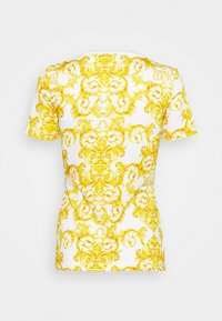Versace Jeans Couture - LADY - T-shirt z nadrukiem - optical white - 7