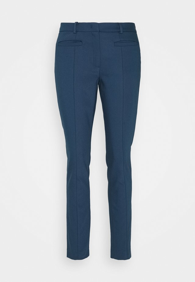 ORGANIC SLIM PANTS - Pantaloni - light marine