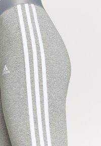 adidas Performance - Leggings - mottled grey - 3