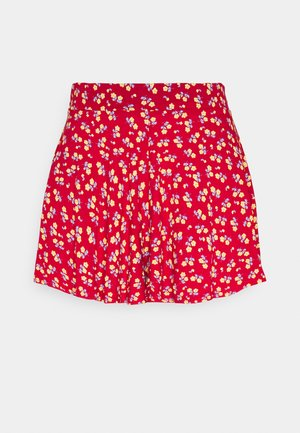 DITSY FLOATY HEM - Shorts - red
