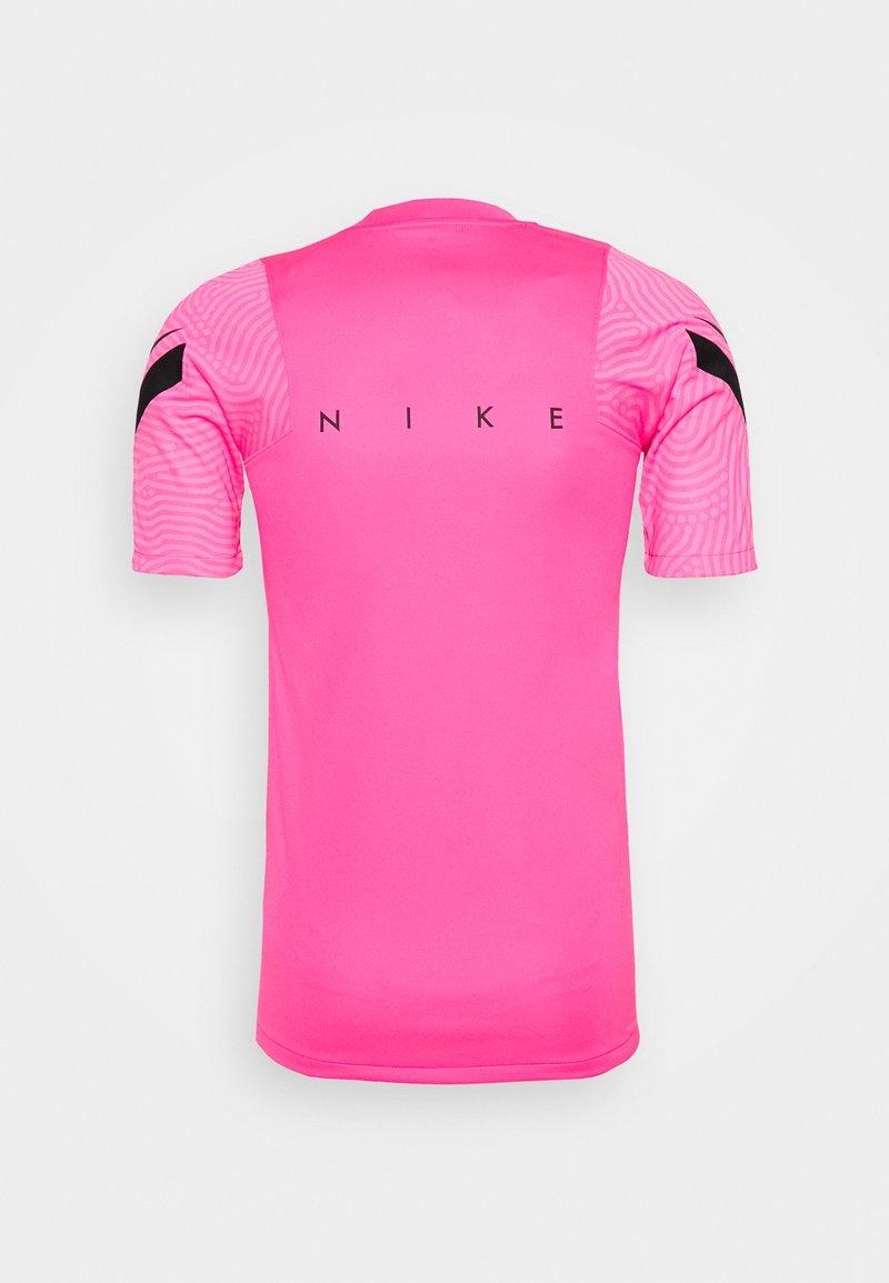 Nike Performance - DRY STRIKE - Print T-shirt - hyper pink/pink glow/black