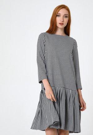 OTTILIANA - Day dress - weiß schwarz