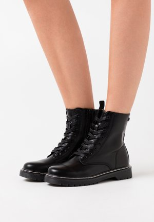 CALM - Lace-up ankle boots - polly