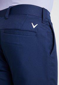 Callaway - TECH TROUSER - Trousers - dress blue - 5