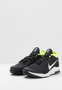 Nike Performance - NIKECOURT AIR MAX WILDCARD - Multicourt tennis shoes - black/white/volt - 2