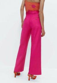 Uterqüe - Trousers - pink - 2